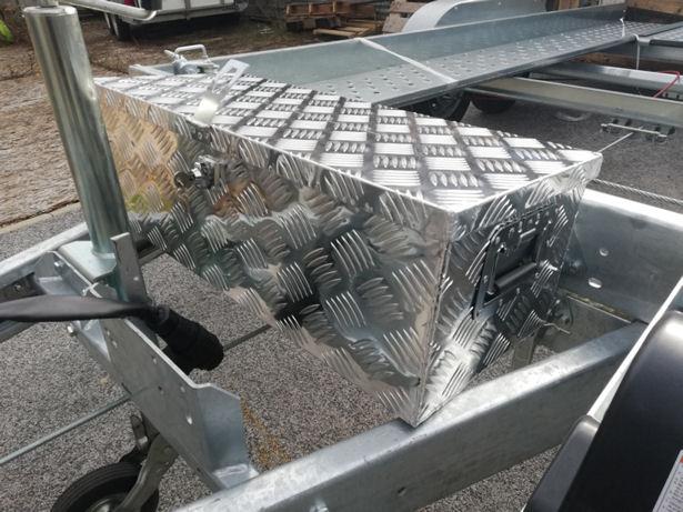 Coffre Aluminium 3 Modèles - Drôme remorque