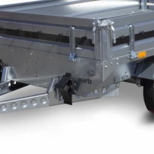 Remorques freinées roues extérieures